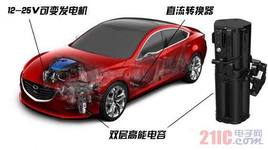 电容取代电池 马自达i-Eloop动能回收系统解析