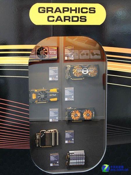 板卡全员到齐CeBIT索泰展台展品一览