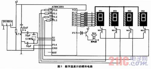 ds18b20数字温度计的设计及在轧机轴承温度测控中应用图片