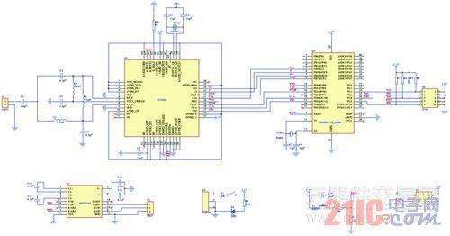 圖2 基于ieee/zigbee的無線傳感器網絡節點參考設計電路圖圖片