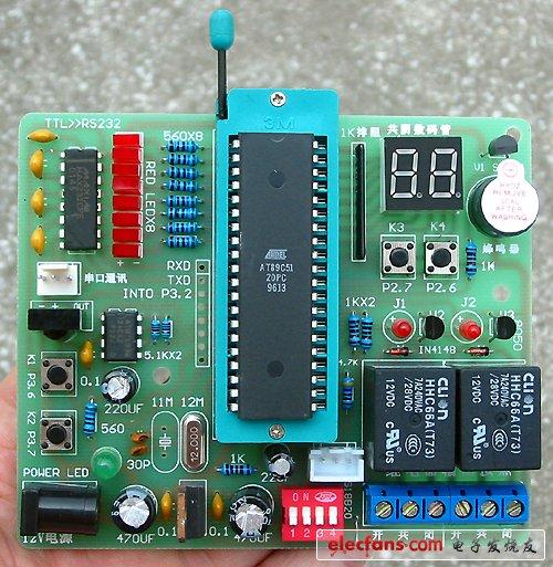 单片机实验开发板测试程序详解