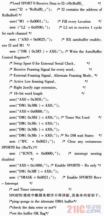 SPORT及IDMA接口在�力系�y�O控�a品中的��用