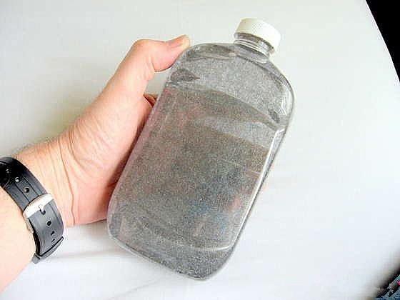 神奇的魔术磁悬浮瓶子DIY方法-瓶子里的麦田怪圈