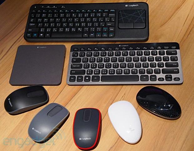 Logitech 在台发布多款 Windows 8 无线触控鼠标、触控板与键盘周边产品