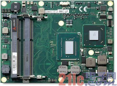 凌华科技推出嵌入式模块计算机Express-IB