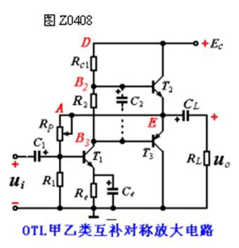 OTL甲乙类互补对称电路的工作原理解析