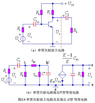单管共射放大电路的频率特性分析