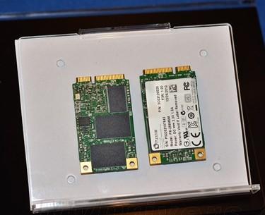 浦科特CES展出其第一款mSATA固态硬盘