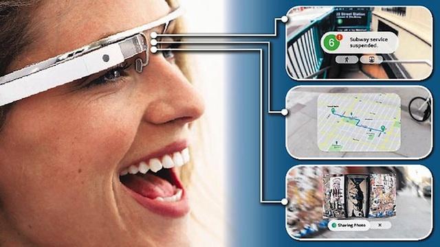 传微软2014年推智能眼镜