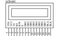 LCD1602引脚图