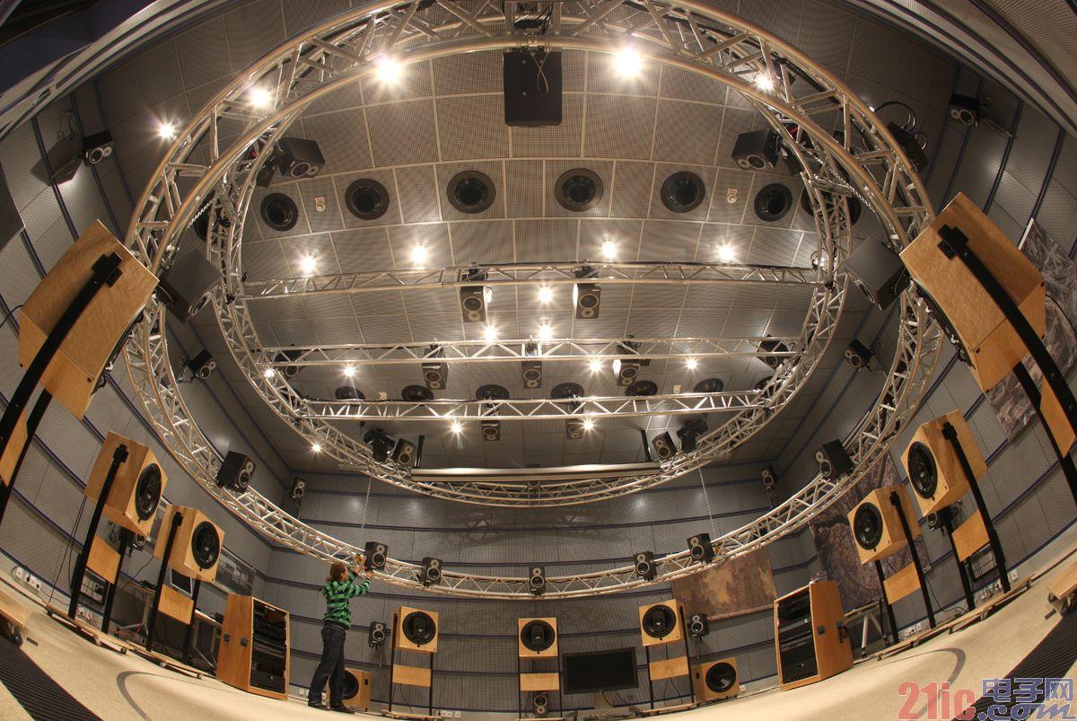 Fraunhofer IIS声学实验室曾是MPEG十大视听测试场之一