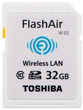 东芝将扩大具有嵌入式无线局域网通信功能的SDHC存储卡