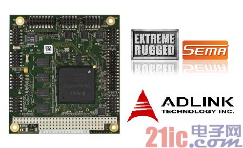 凌华科技发布高性价比、加固型宽温PC/104单板计算机