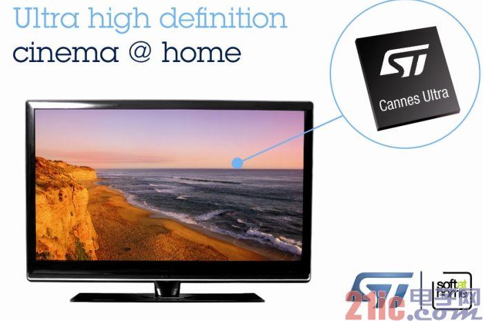 ST和SoftAtHome携手推进超高清技术应用 真正实现在家中享受影院级画质体验