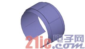 一种可手戴RFID标签天线设计