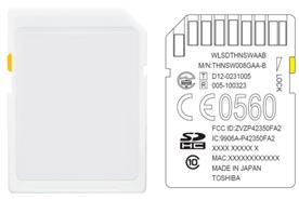 东芝推出搭载嵌入式无线局域网通信功能的SDHC存储卡