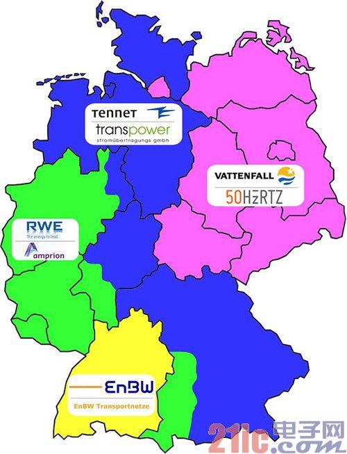 德国电网是2013年全球电网最稳定的国家之一