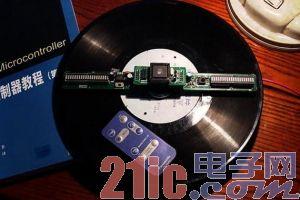 51单片机DIY制作实例:酷炫的旋转LED数字显示电子钟(含C语言源程序)