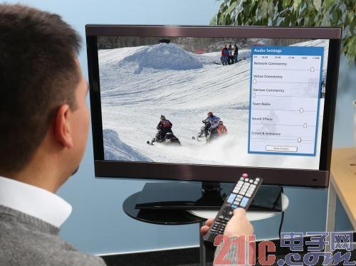 Fraunhofer IIS推出针对电视及流媒体的交互式及3D沉浸式音频系统