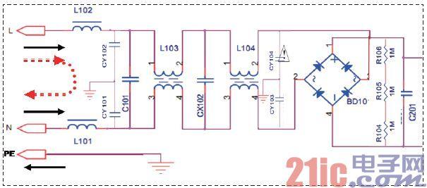 等离子电视电源的电磁兼容设计