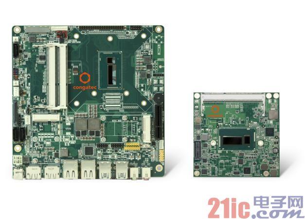 康佳特推出基于第五代英特尔酷睿处理器平台的COMExpress计算机模块和Thin Mini-ITX主板