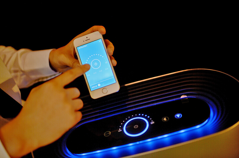 "Air Touch-S:一款""会思考""的智能空气净化器"
