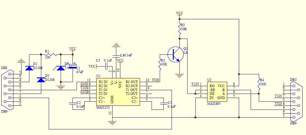 周立功致远电子推出自动换向功能的RS485隔离收发器