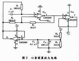 心音、脉搏信号采集、调理电路的设计