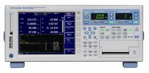 横河发布高精度功率分析仪WT3000E