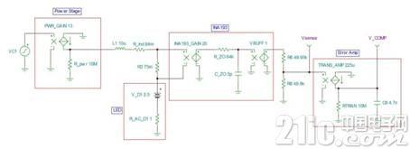 电源技巧:具有电流控制模式的LED降压稳压器简化了补偿操作