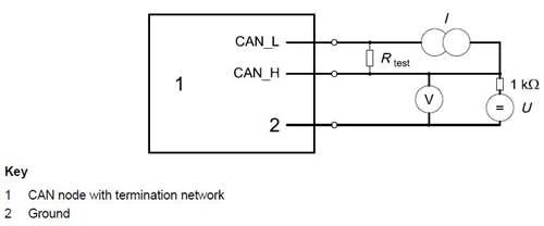 如何准确测量CAN节点的输入电压阈值