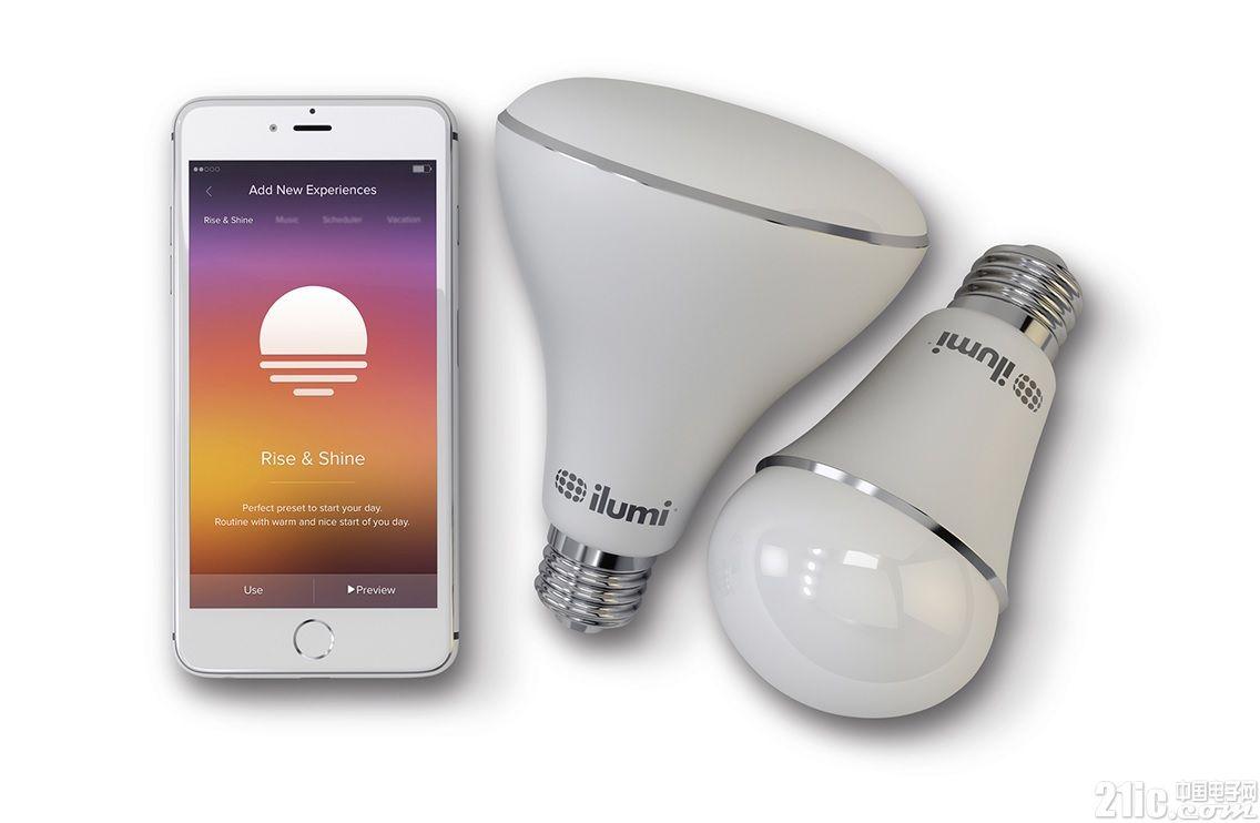 基于蓝牙智能网状网络的智能LED灯泡为消费者提供可定制和控制多达50个家居灯泡的简单解决方案