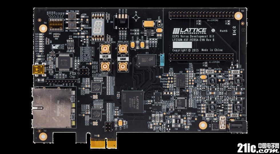 莱迪思半导体推出ECP5 Versa开发套件,快速实现智能互连设计的原型开发