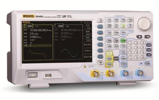 RIGOL DG4000系列函数/任意波形发生器家族增添新成员