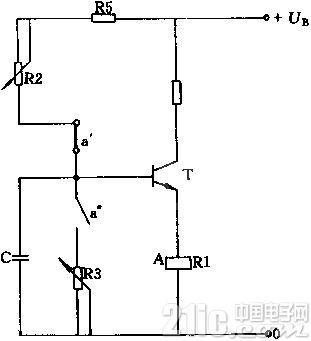 周期工作的双定时器电路图