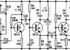 9018三极管组成的无线话筒电路图