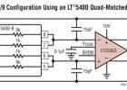 LTC6363 差分 Av = 1/9 配置使用 LT5400 开户