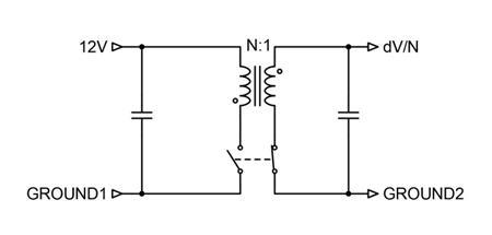图 3:同步隔离反激式电路支持双向电流流动