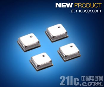 Mouser备货Murata微型ZPA系列电容式MEMS压力传感器 高精度、低功耗应用的不二之选