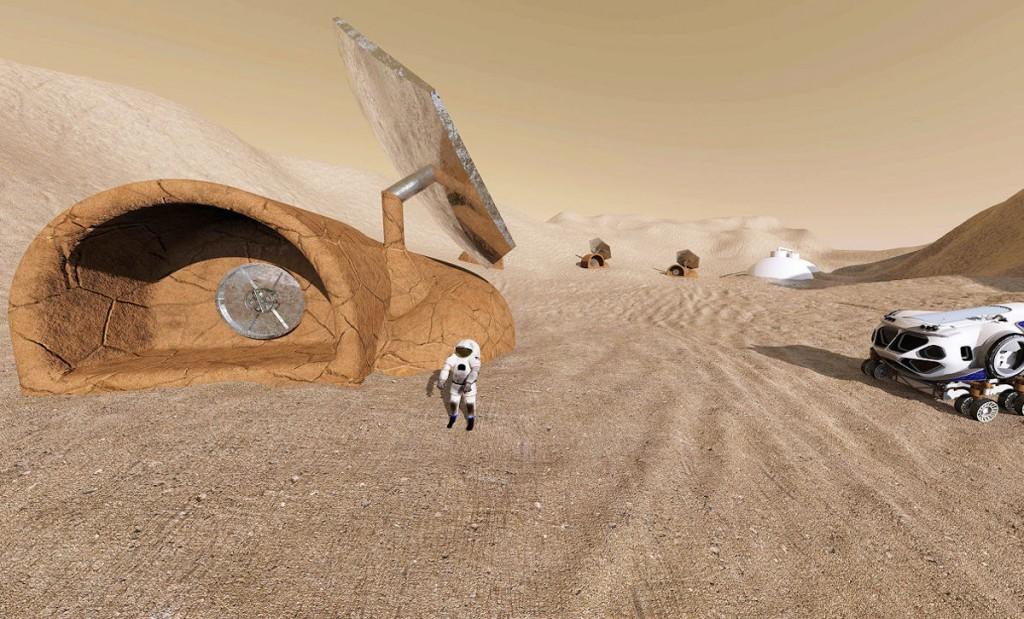 移民火星能有多远?这家公司计划去那里盖房子