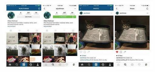 5年首次更换图标 instagram新应用图标引真意图片