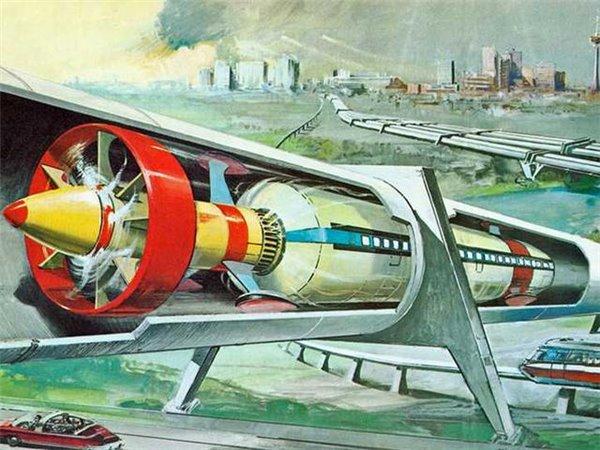 """叫板马斯克!""""中国超级高铁""""也要飞:时速一千公里"""