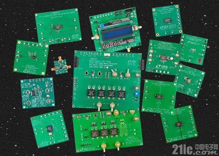 e络盟推出凌力尔特全系列电源管理和数据转换演示板