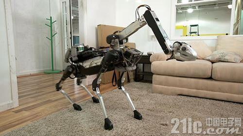 """波士顿动力再出新型""""可怕的""""机器人"""