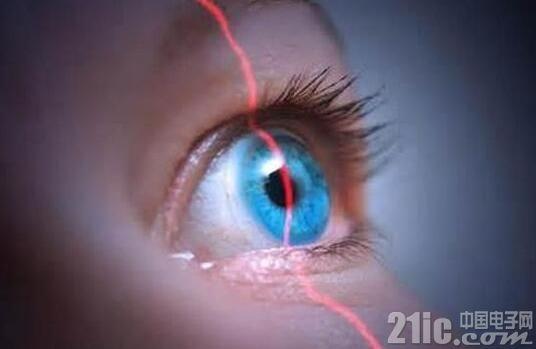 手机上的虹膜识别:红外发射提高识别率