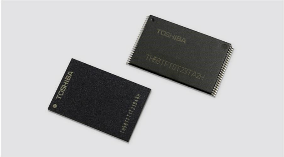 东芝推出全球首款64层3D NAND闪存