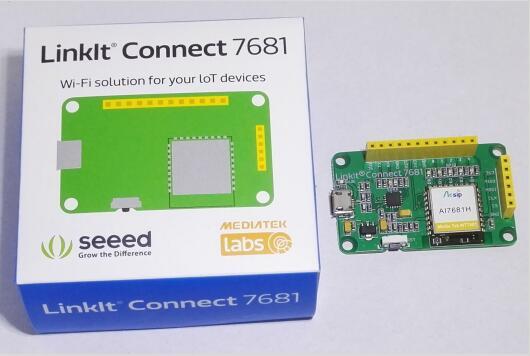 物联网Wifi解决方案——Seeed LinkIt Connect 768