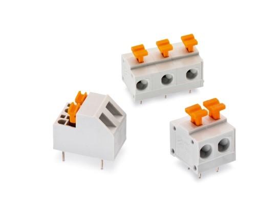 伍尔特电子WR-TBL系列新增稳定的免螺丝接线端子