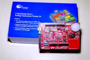 多传感器嵌入式IoT可编程模拟SoC——CY8CKIT-048评
