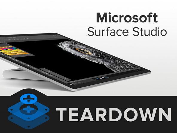 微软Surface Studio拆解,内部竟然有颗ARM处理器!「多图」